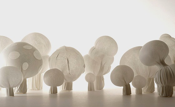 Blown Fabric Nendo Oki Sato